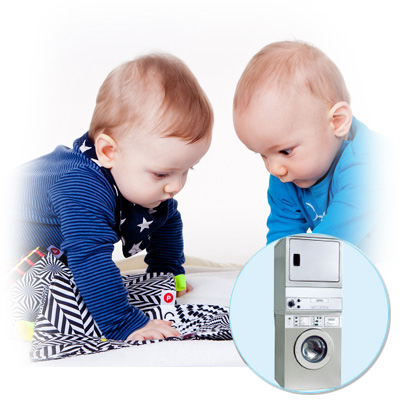 Machine laver pour crches petite enfance maternit - Machine a laver petite taille ...