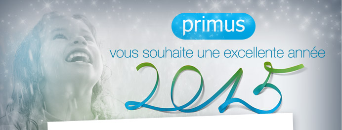 Primus vous souhaite une excellente année