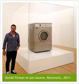 Daniel Firman et son oeuvre, Rotomatic, 2011.