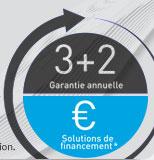 3+2 Garantie annuelle & Solutions de financement